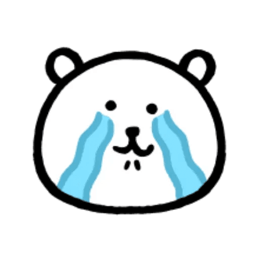 W bear emoji - Sticker 7