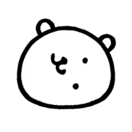 W bear emoji - Sticker 17