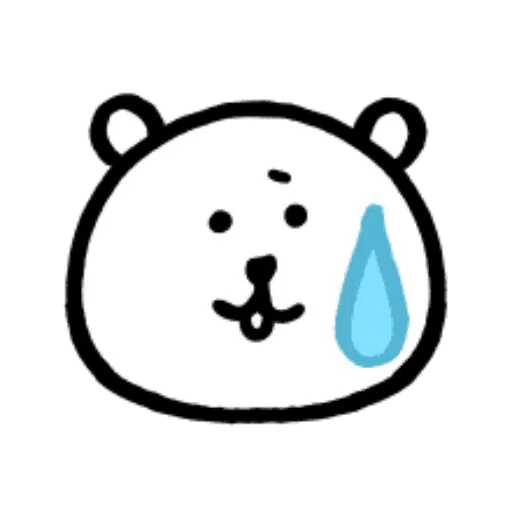W bear emoji - Sticker 5