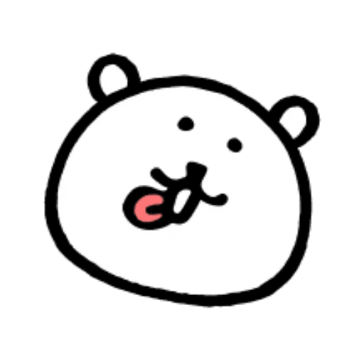 W bear emoji - Sticker 13