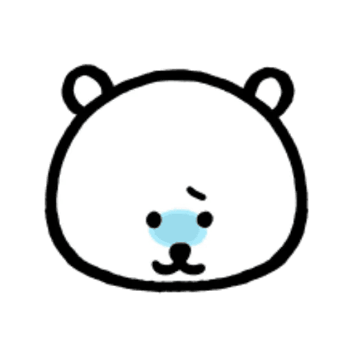 W bear emoji - Sticker 12