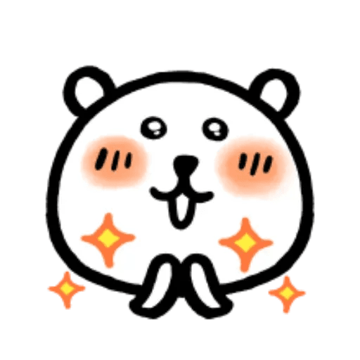 W bear emoji - Sticker 18
