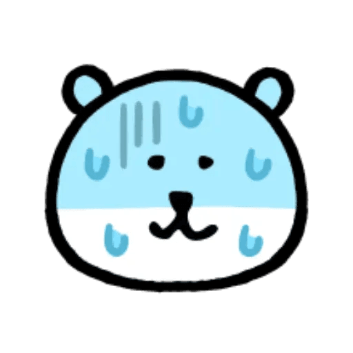 W bear emoji - Sticker 6