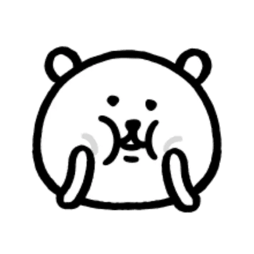 W bear emoji - Sticker 23