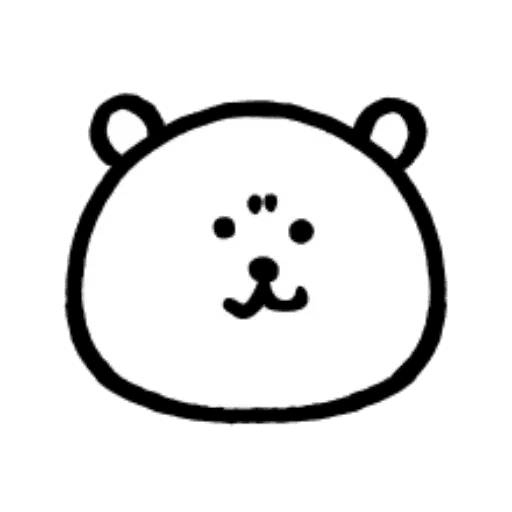 W bear emoji - Sticker 24
