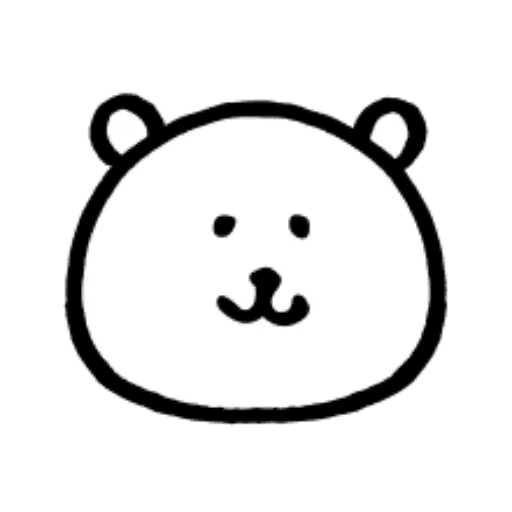 W bear emoji - Sticker 1
