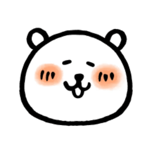 W bear emoji - Sticker 10