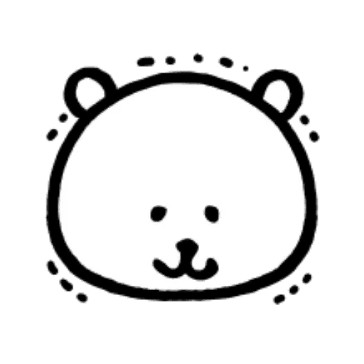 W bear emoji - Sticker 19