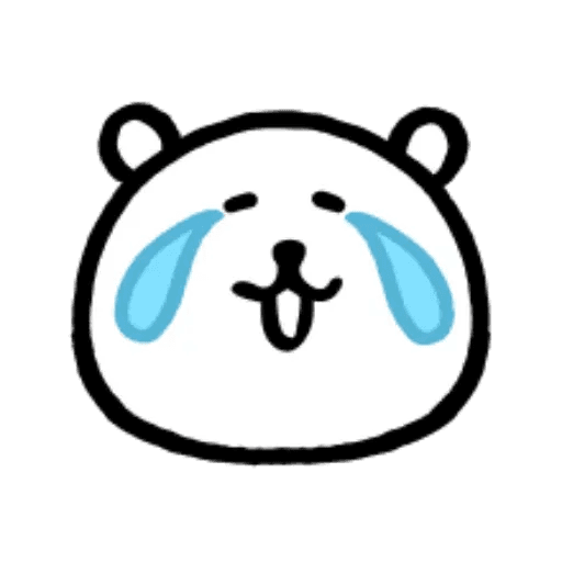 W bear emoji - Sticker 9