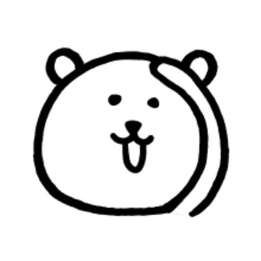 W bear emoji - Sticker 21