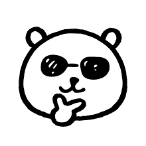 W bear emoji - Sticker 16