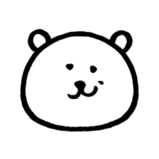 W bear emoji - Sticker 14