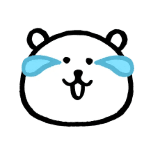 W bear emoji - Sticker 8