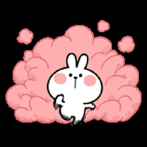 Spoiled Rabbit 2 - Tray Sticker