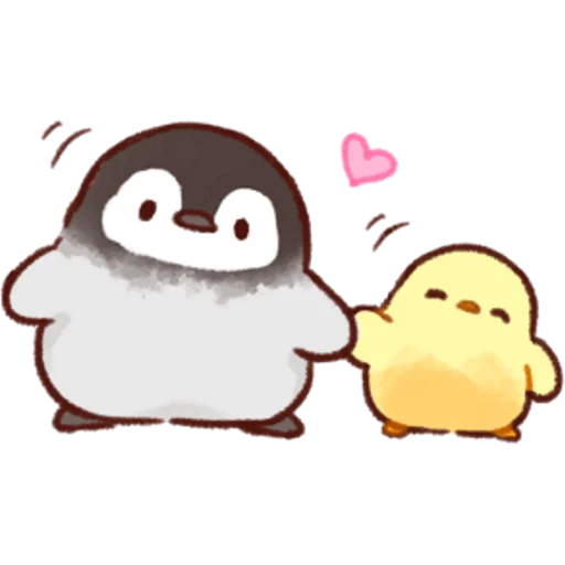 soft and cute chick 03 - Sticker 17