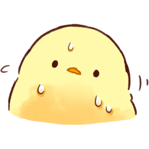 soft and cute chick 03 - Sticker 1
