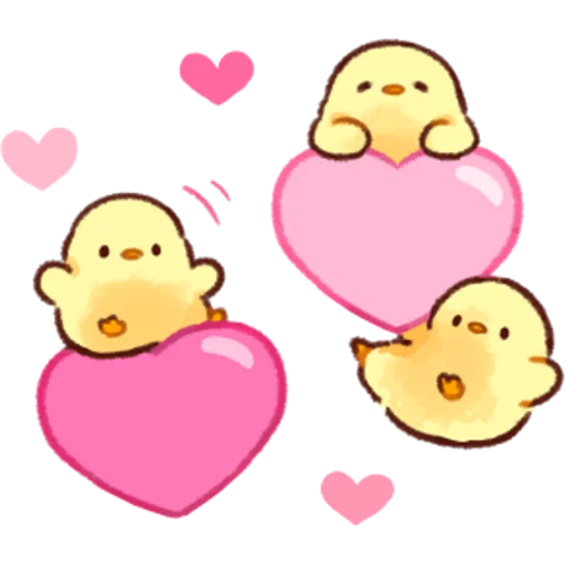 soft and cute chick 03 - Sticker 12