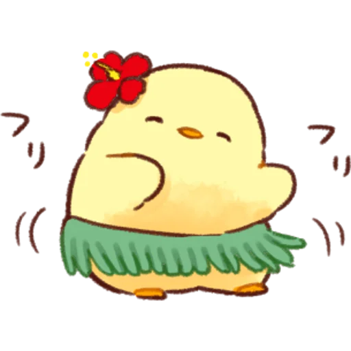 soft and cute chick 03 - Sticker 23