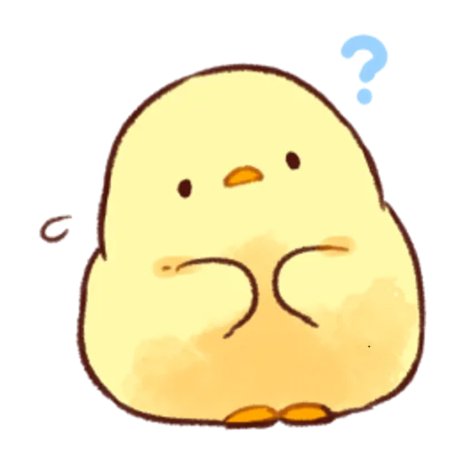 soft and cute chick 03 - Sticker 22