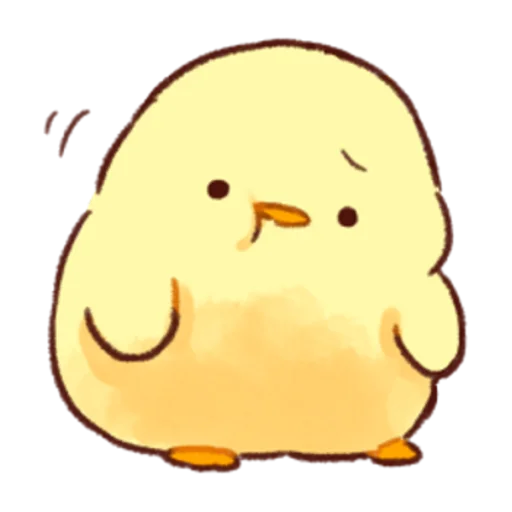 soft and cute chick 03 - Sticker 18