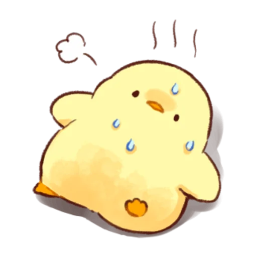 soft and cute chick 03 - Sticker 27
