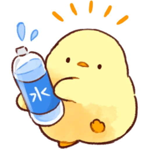 soft and cute chick 03 - Sticker 29