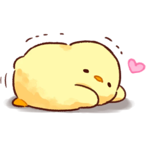 soft and cute chick 03 - Sticker 6