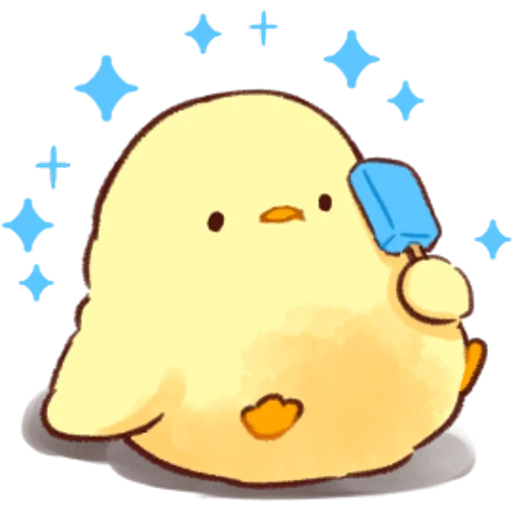 soft and cute chick 03 - Sticker 24