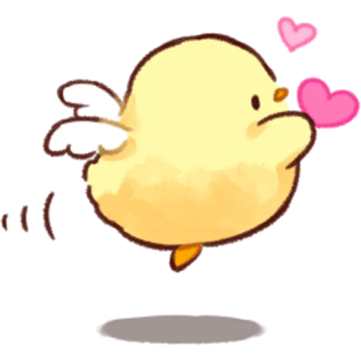 soft and cute chick 03 - Sticker 7