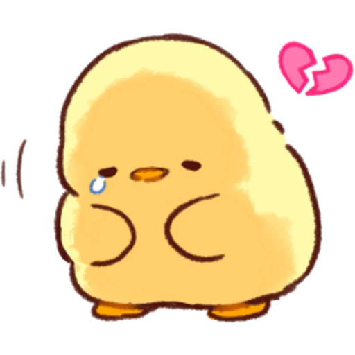 soft and cute chick 03 - Sticker 3
