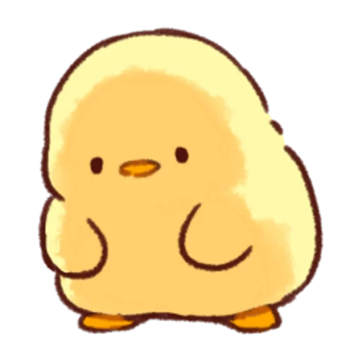 soft and cute chick 03 - Sticker 2