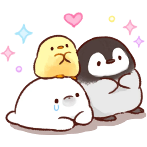 soft and cute chick 03 - Sticker 10