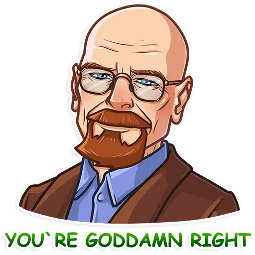 Breaking Bad - Sticker 3