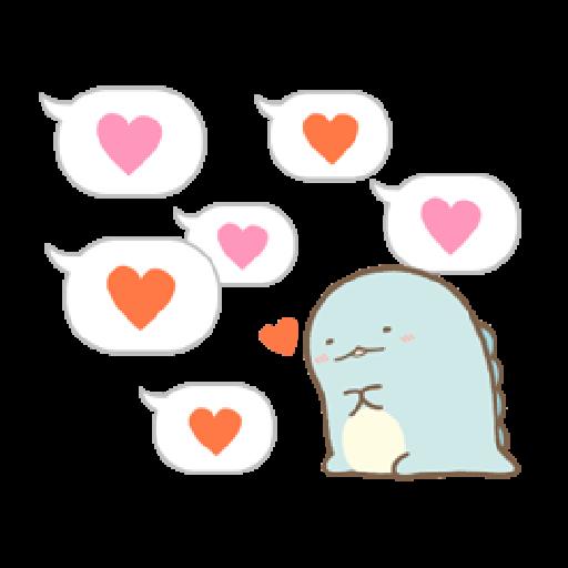 Sumikko Gurashi (連對話框也動起來篇) - Sticker 8