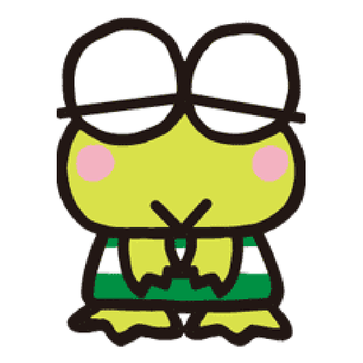 Keroppi 2 - Sticker 27