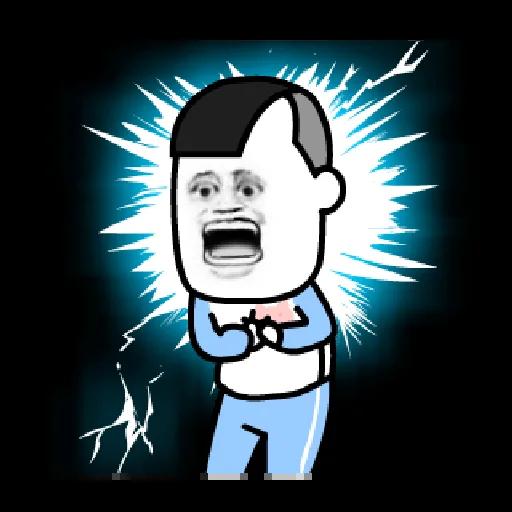 磨菇頭 - Sticker 3
