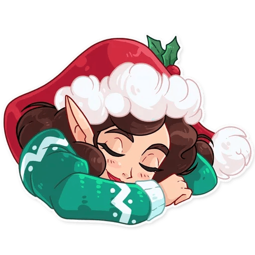Penelope the Elf - Sticker 12