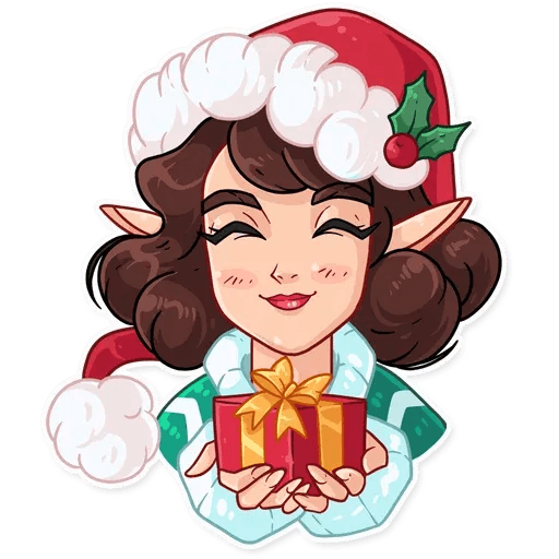 Penelope the Elf - Sticker 11