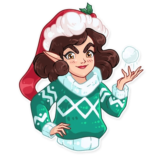Penelope the Elf - Sticker 13