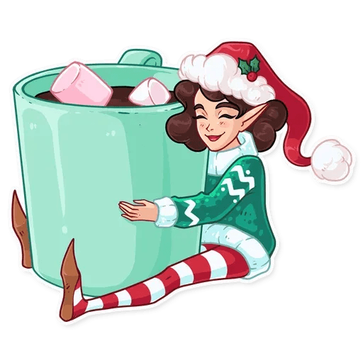 Penelope the Elf - Sticker 24