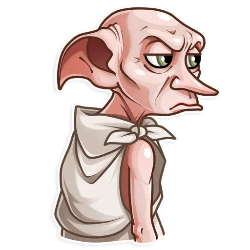 Dobby Borat - Sticker 6
