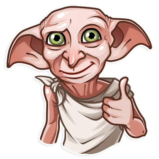 Dobby Borat - Sticker 3