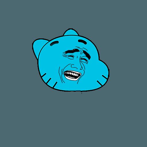 Monster_Frodo - Sticker 1