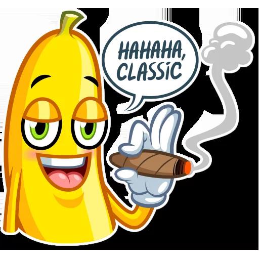 Banana plátano - Sticker 11