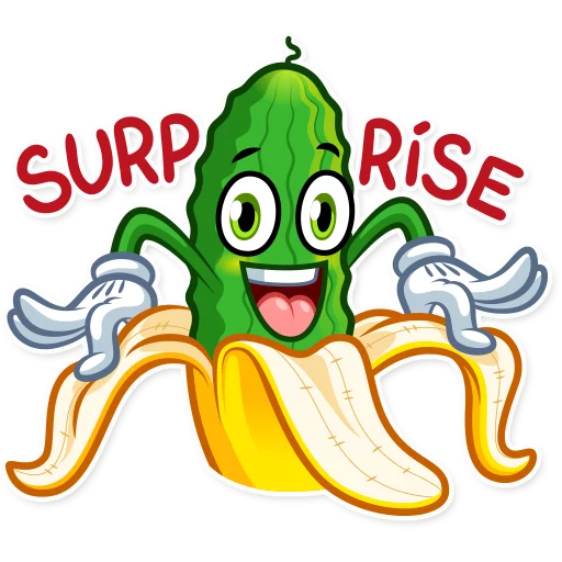 Banana plátano - Sticker 21