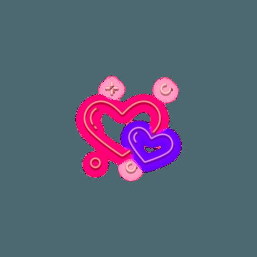 Love Tumblr - Tray Sticker