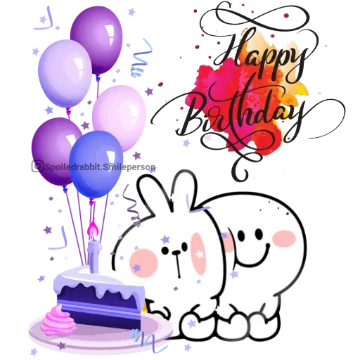 Happy birthday - Sticker 5