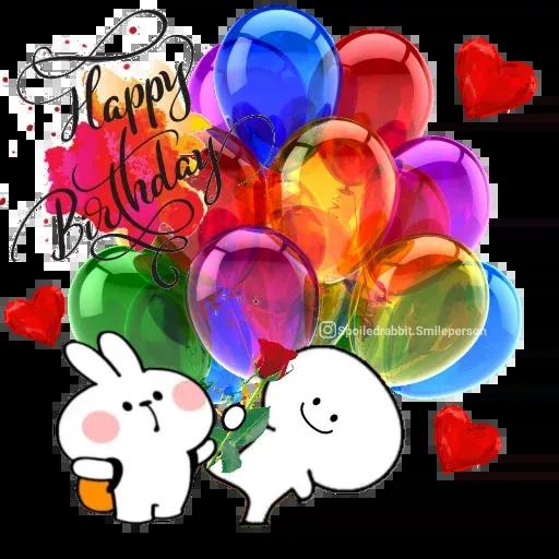 Happy birthday - Sticker 7