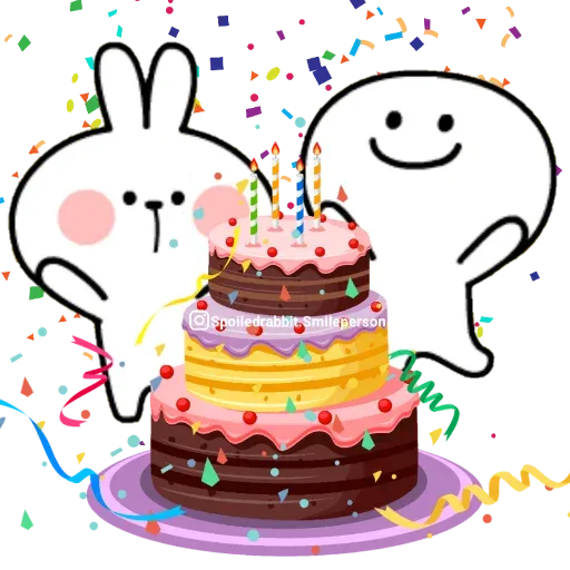 Happy birthday - Sticker 3