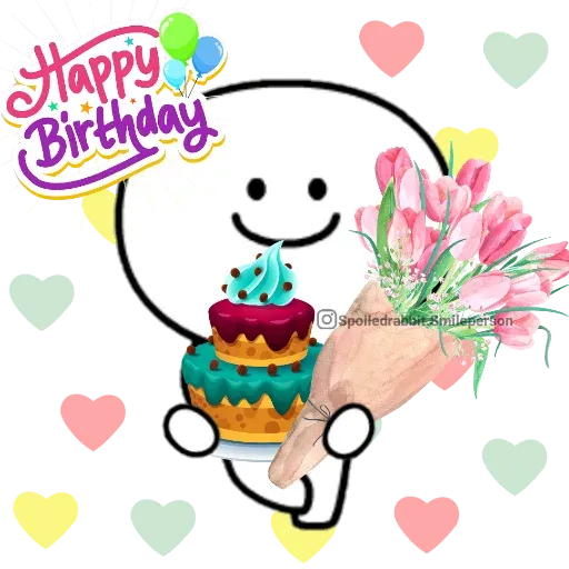 Happy birthday - Sticker 1